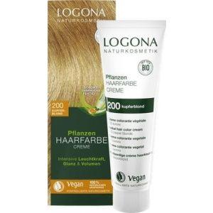 LOGONA Pflanzen Haarfarbe Creme 200 kupferblond