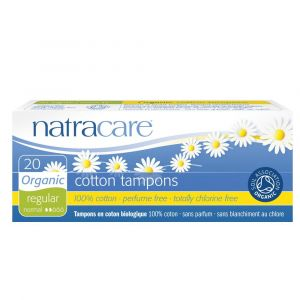 NATRACARE Tampons normal 100% Bio-Baumwolle