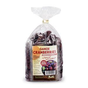 BETTERLIFE Ganze Cranberries ungeschwefelt schonend getrocknet
