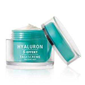 HYALURON 5-EFFEKT Tagescreme für trockene Haut