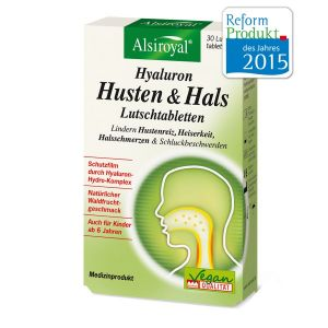 Hyaluron Husten & Hals Lutschtabletten