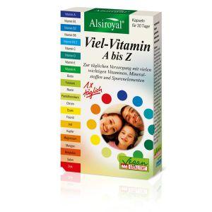 Viel-Vitamin A bis Z