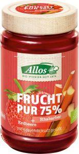 Frucht Pur 75% Erdbeere-Rhabarber