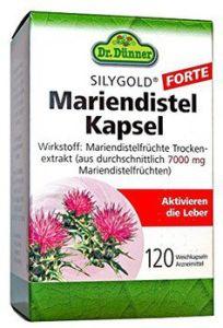 DR. DÜNNER SILYGOLD® FORTE Mariendistel Kapsel