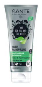 SANTE Glanz-Haarspülung mit Bio-Birkenblattextrakt & Klettenwurzel