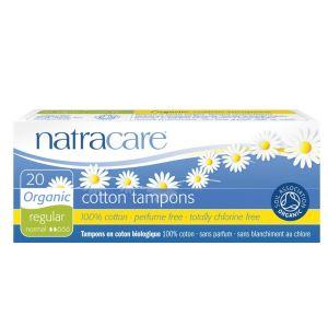 NATRACARE Tampons normal 100% Bio-Baumwolle