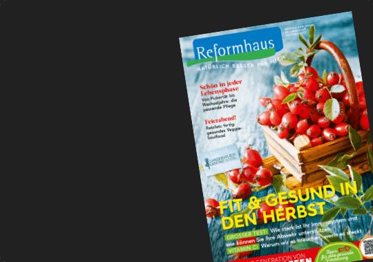 Reformhaus Magazin Oktober2020