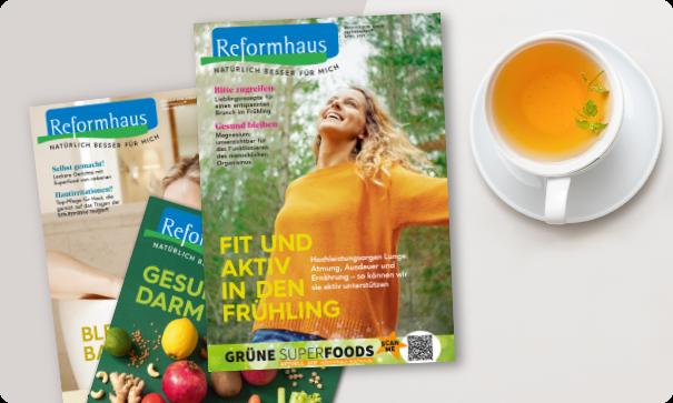 Reformhaus Magazin März 2021
