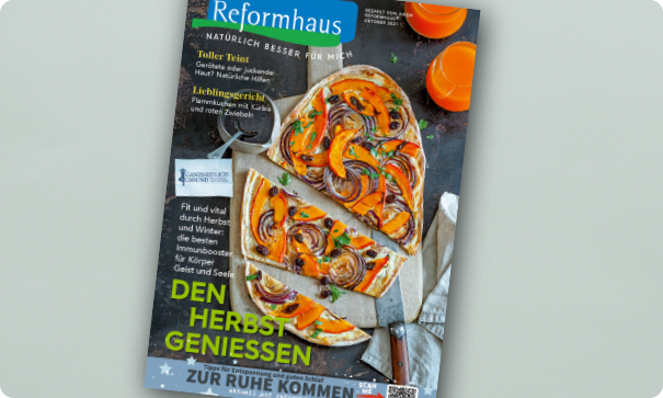 Reformhaus Magazin Oktober width=