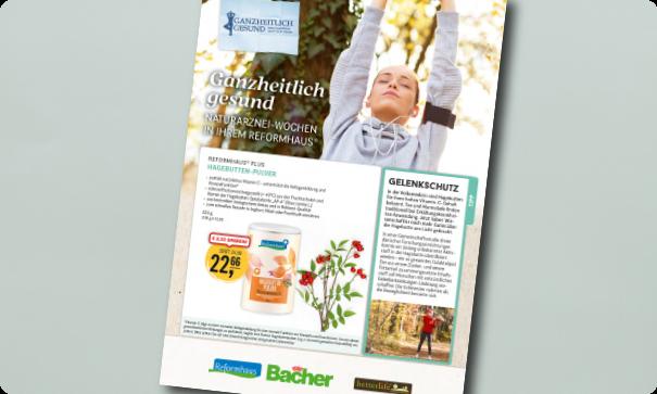 Reformhaus Bacher Natur-Arznei-Wochen im Oktober 2021