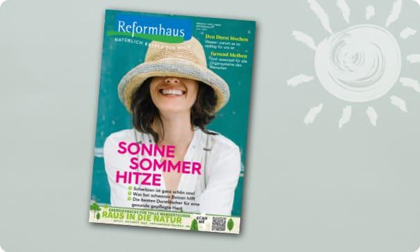 Reformhaus Magazin Juli 2021