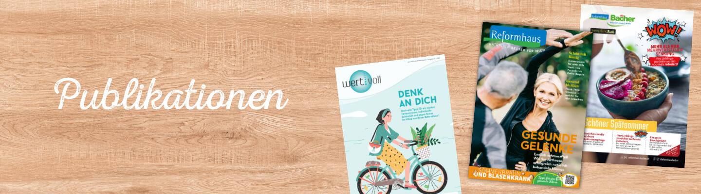 Reformhaus Bacher Publikationen im September 2020