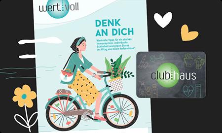 wertvoll Magazin - das club.haus Werbemagazin