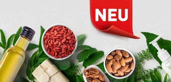 Neue Produkte im Reformhaus Bacher Online Shop